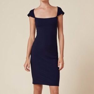 Reformation NWT Julep Dress Navy
